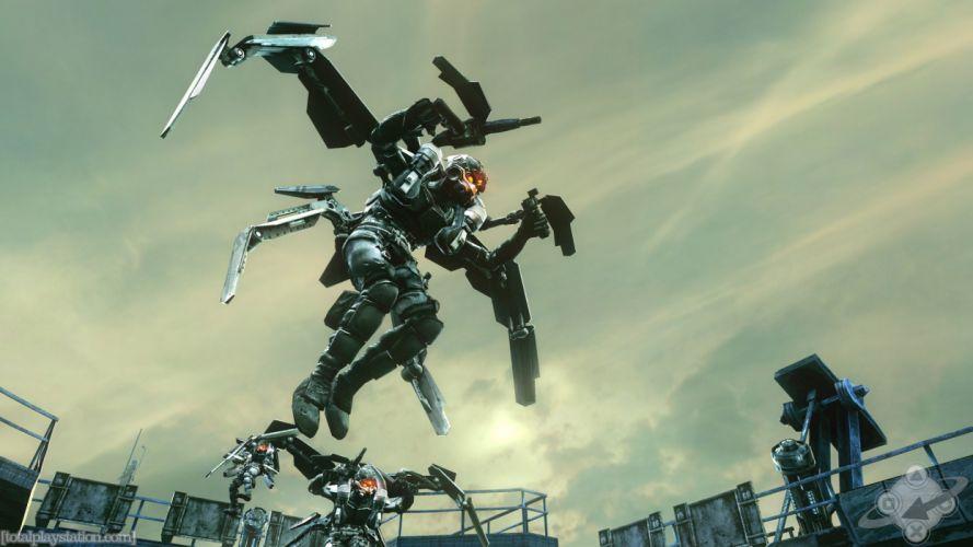 KILLZONE warrior soldier sci-fi weapon gun g wallpaper