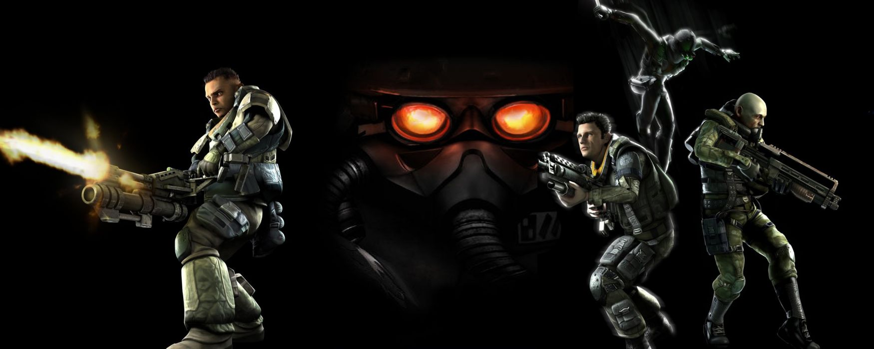 KILLZONE warrior soldier sci-fi weapon gun   g wallpaper