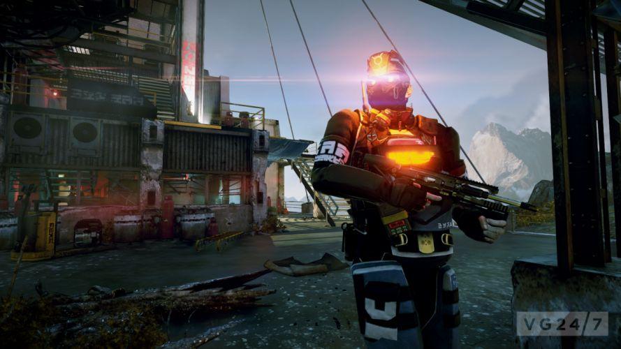 KILLZONE warrior soldier sci-fi weapon gun h wallpaper