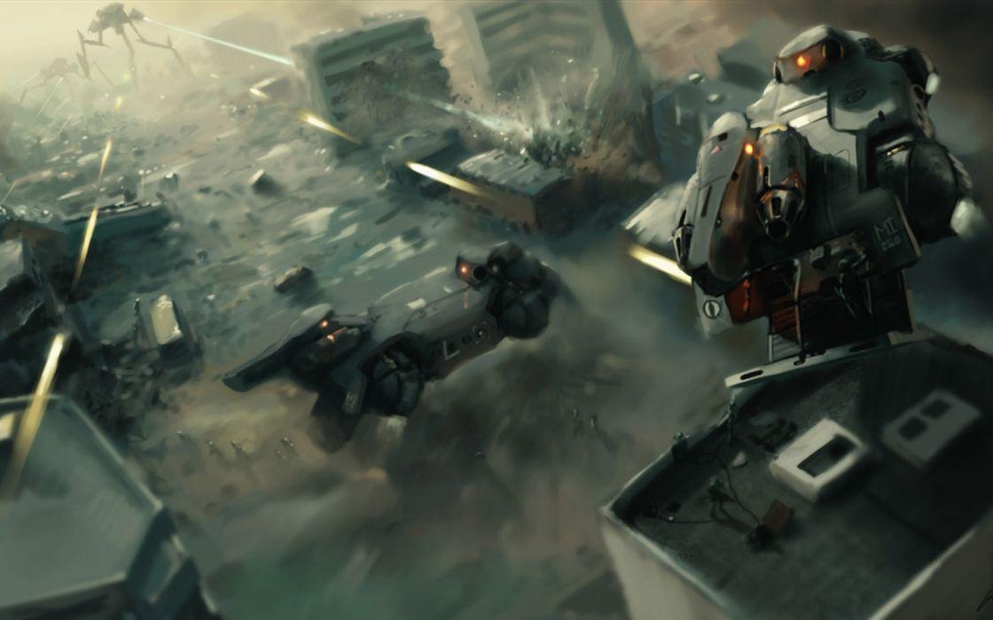 KILLZONE warrior soldier sci-fi weapon gun battle      g wallpaper