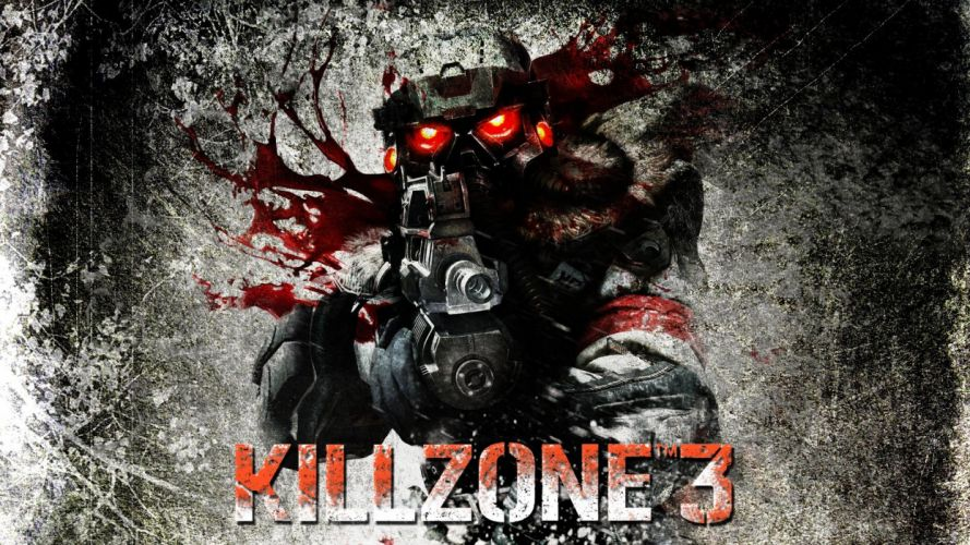 KILLZONE warrior soldier sci-fi weapon gun blood g wallpaper