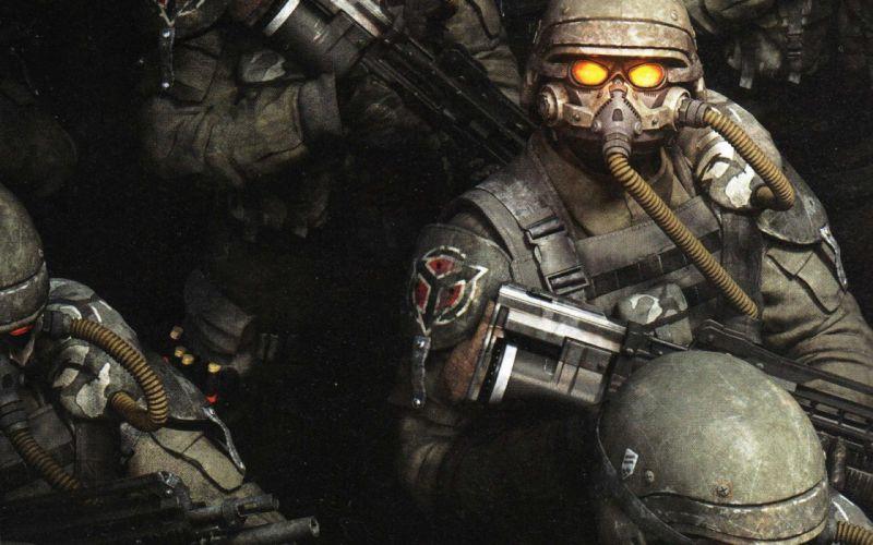 KILLZONE warrior soldier sci-fi weapon gun gj wallpaper