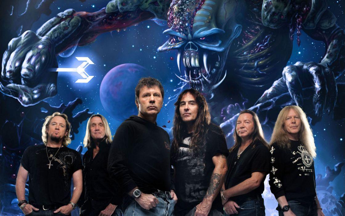 Iron Maiden Band British Heavy Metal wallpaper