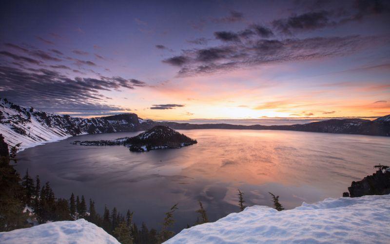 Mountains Lake wallpaper