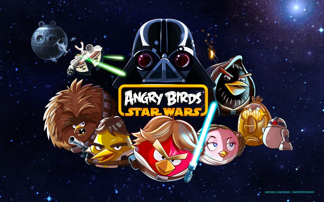ANGRY BIRDS star wars      f wallpaper