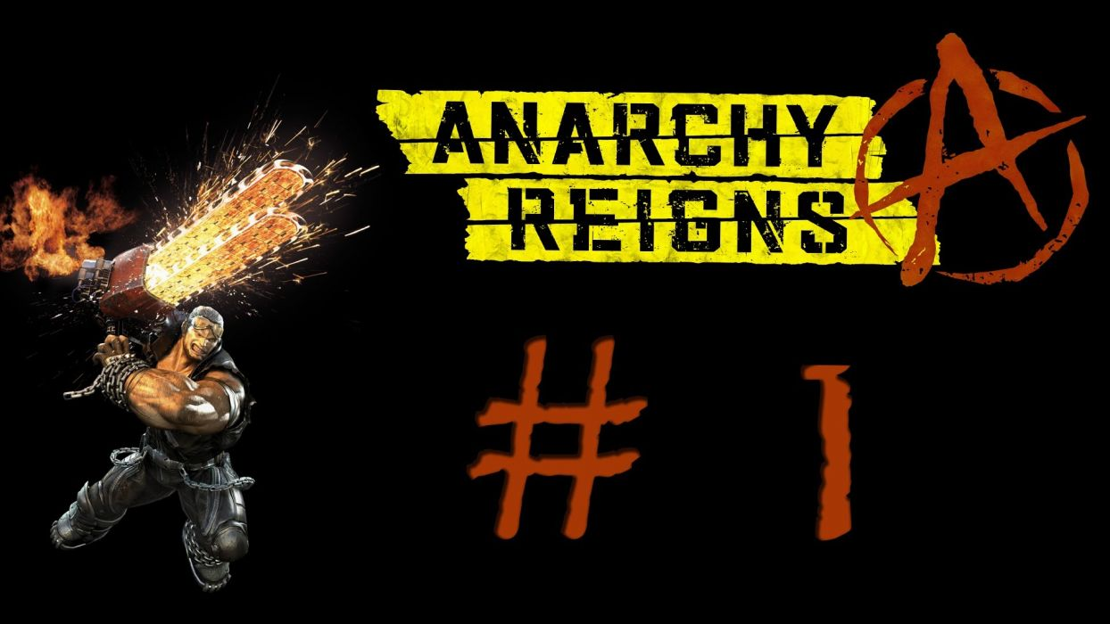 ANARCHY REIGNS   g wallpaper