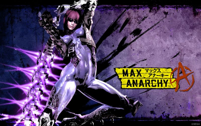 ANARCHY REIGNS warrior sci-fi anime g wallpaper