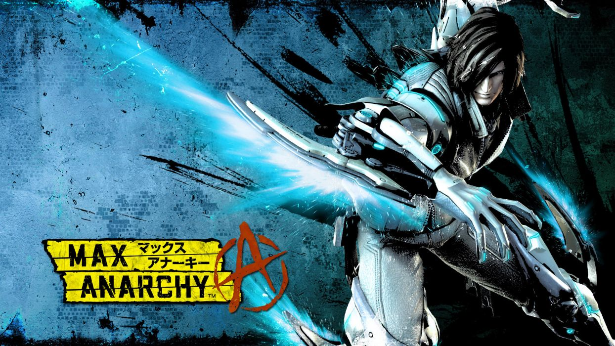 ANARCHY REIGNS warrior sci-fi anime   h wallpaper