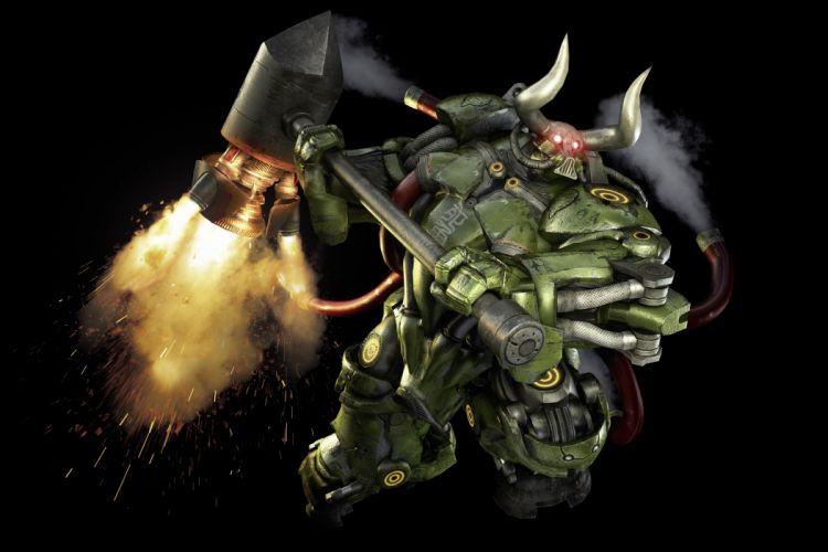 ANARCHY REIGNS warrior sci-fi anime r wallpaper