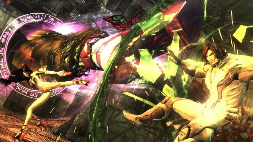 ANARCHY REIGNS warrior sci-fi anime f wallpaper