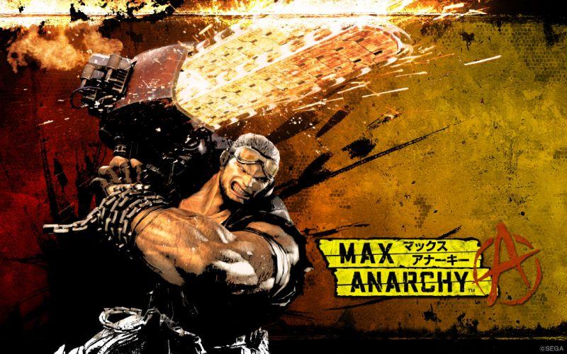 ANARCHY REIGNS warrior sci-fi anime b wallpaper