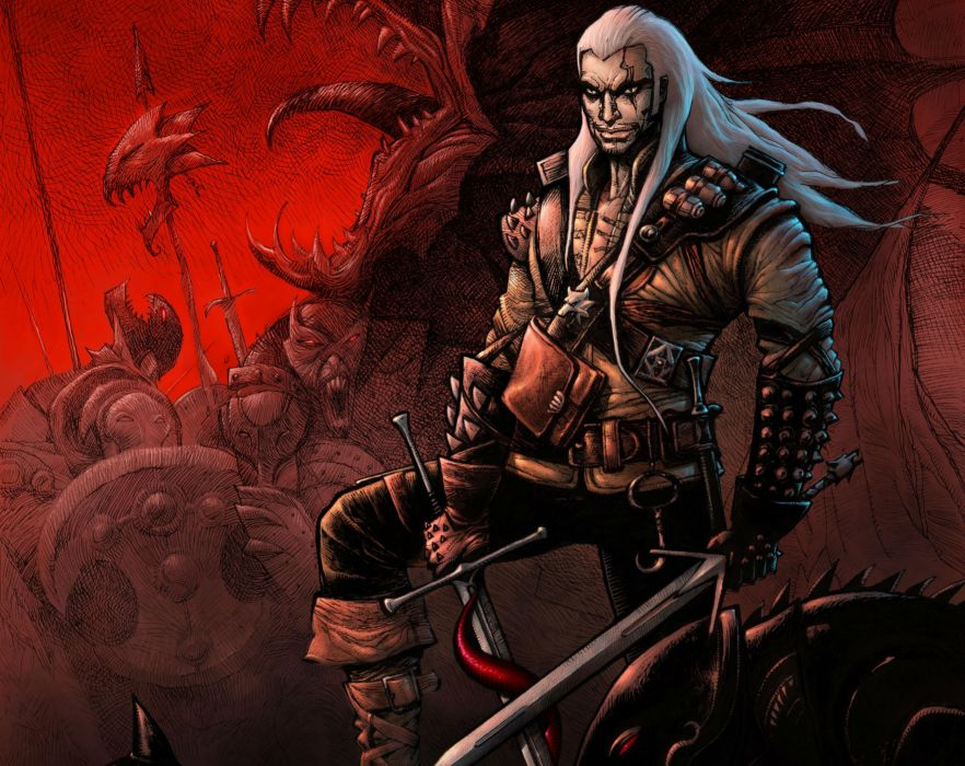 THE WITCHER fantasy warrior     xz wallpaper