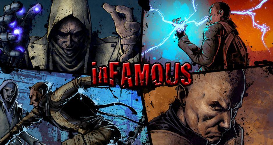 inFAMOUS k wallpaper