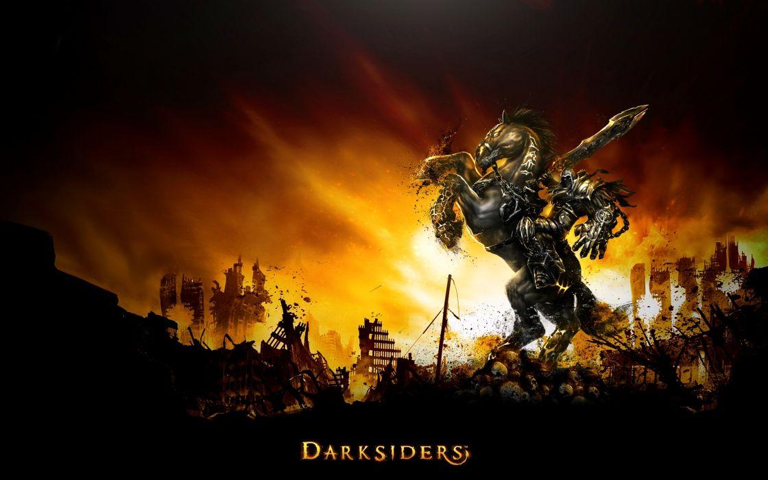 DARKSIDERS fantasy warrior      f wallpaper