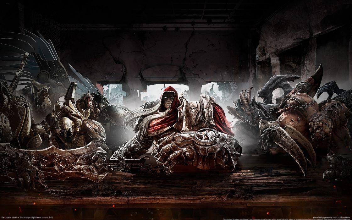 DARKSIDERS fantasy warrior     d wallpaper