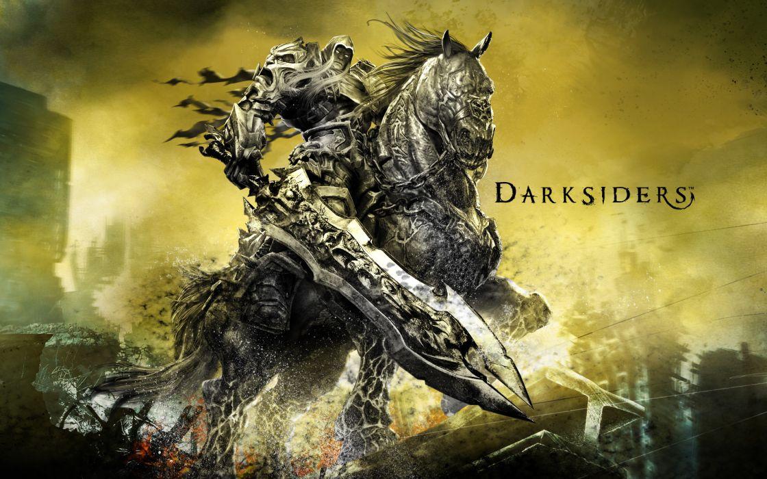 DARKSIDERS fantasy warrior    fw wallpaper