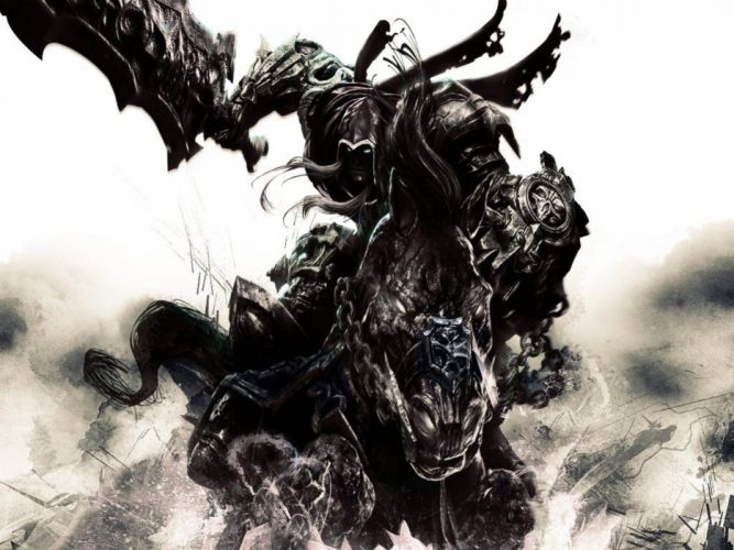DARKSIDERS fantasy warrior c wallpaper