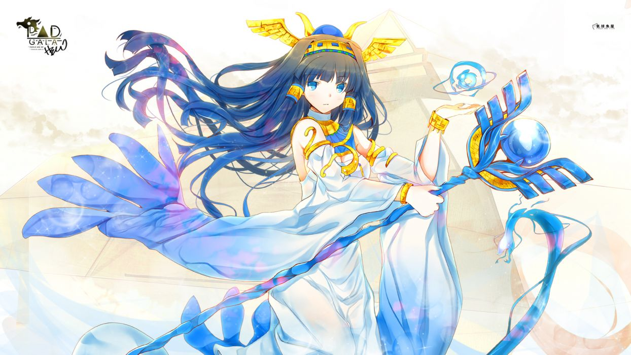 puzzle & dragons isis wallpaper
