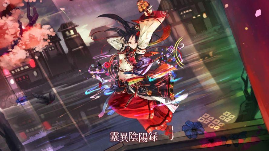 Ayakashi Ghost Guild wallpaper