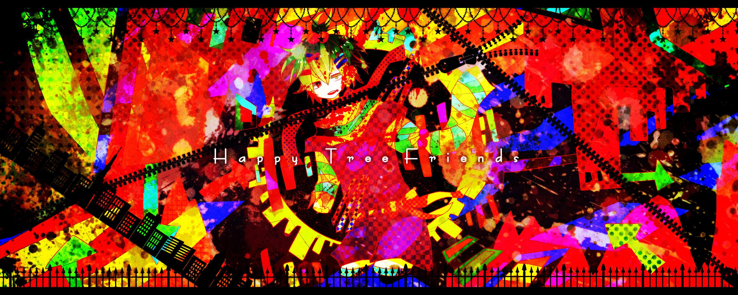 Happy Tree Friends Nutty wallpaper   2500x1000   152842 ... Happy Tree Friends Wallpaper Nutty