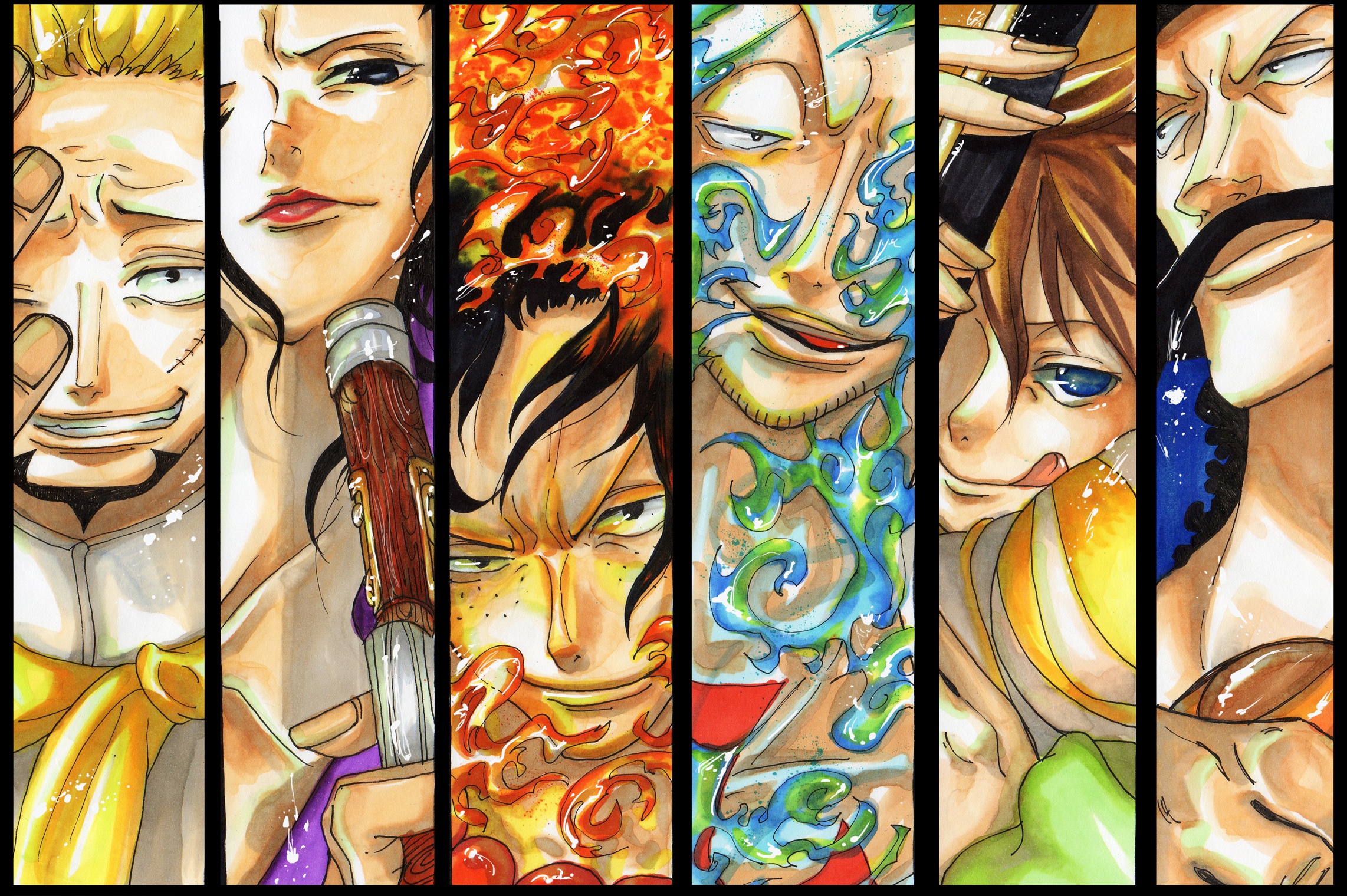 One Piece Whitebeard Pirates Wallpaper 2284x1520 152894