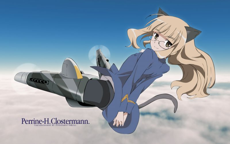 Strike Witches Perrine H_ Clostermann g wallpaper