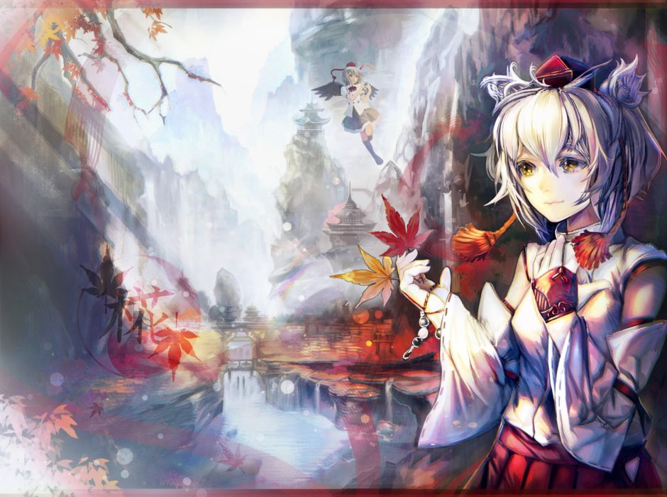 Touhou autumn wallpaper