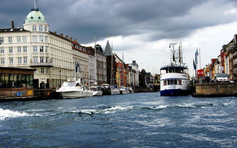 City Copenhagen Denmark wallpaper