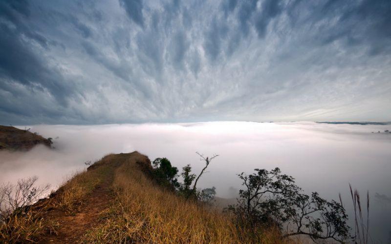 Landscape Clouds wallpaper