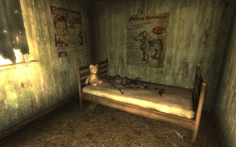FALLOUT dark horror apocalyptic death skeleton wallpaper