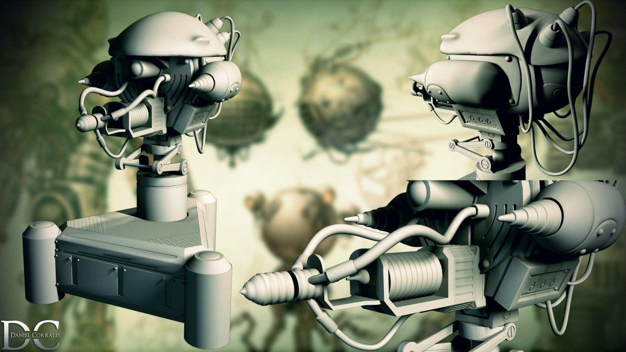 FALLOUT sci-fi robot   t wallpaper