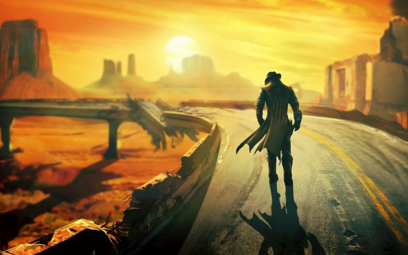 FALLOUT sci-fi warrior nv wallpaper