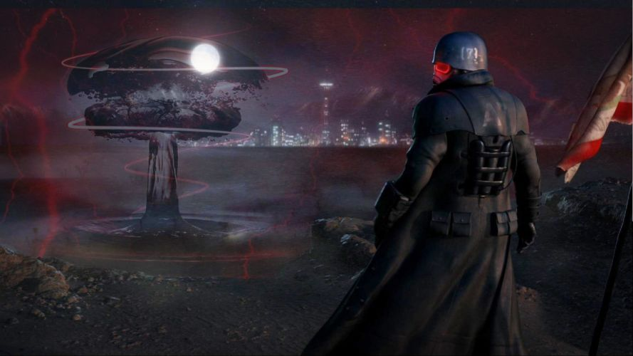 FALLOUT sci-fi warrior apocalyptic t wallpaper