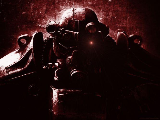 FALLOUT sci-fi warrior mask armor t wallpaper