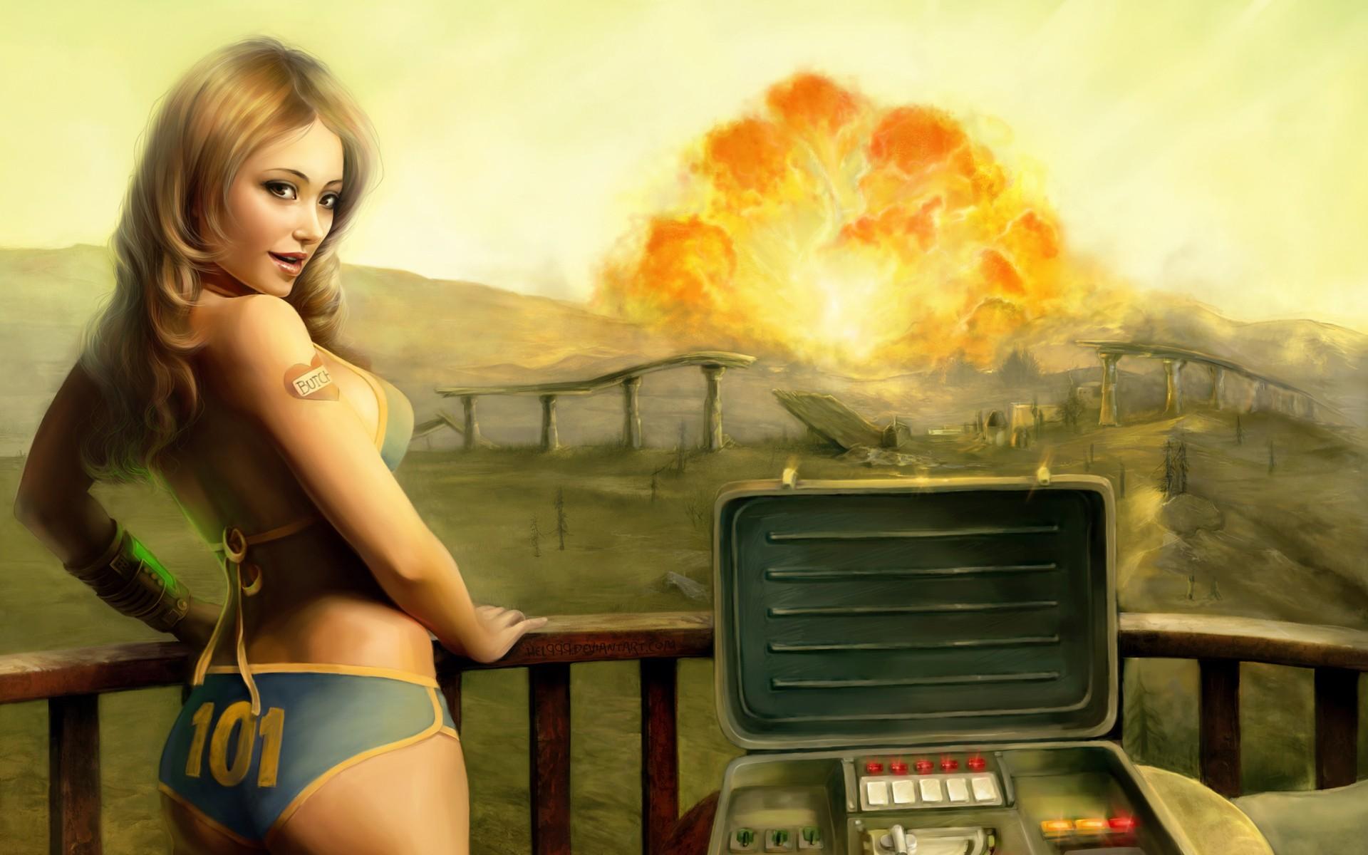 Fallout 3 babe nude fucking image