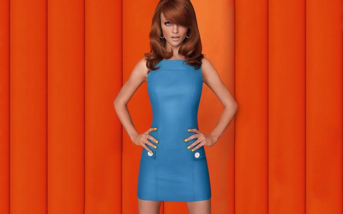 Woman Girl Beauty Cintia Dicker Fashion Model wallpaper