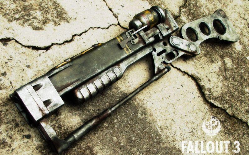 FALLOUT sci-fi weapon gun r wallpaper