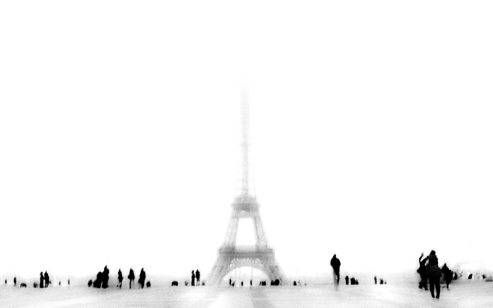 Eiffel Tower Paris France Mood Wallpaper 1920x1200