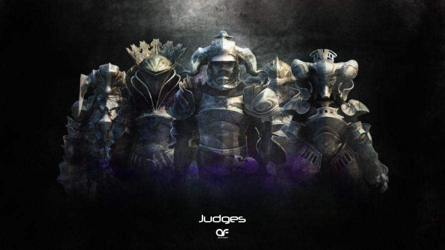 Final Fantasy Judges warrior wallpaper