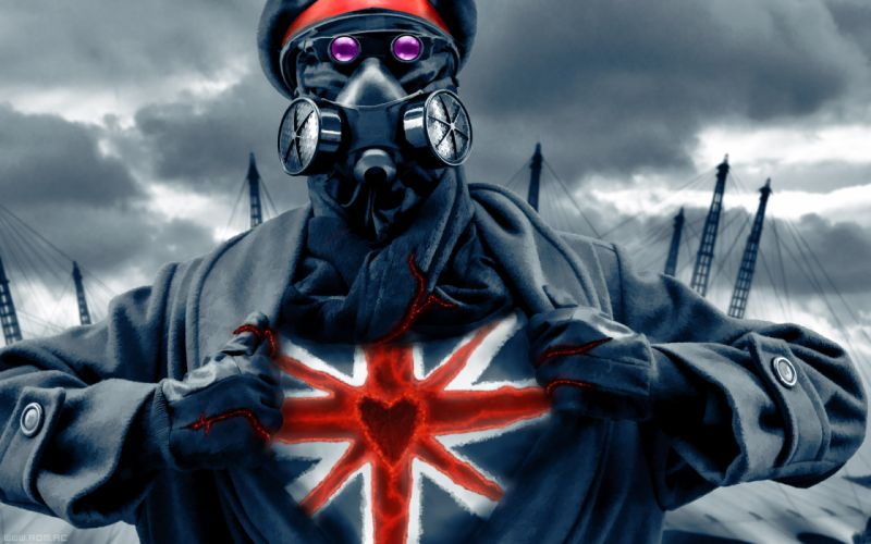 Romantically Apocalyptic Gas Mask Drawing Zee Captain Heart wallpaper
