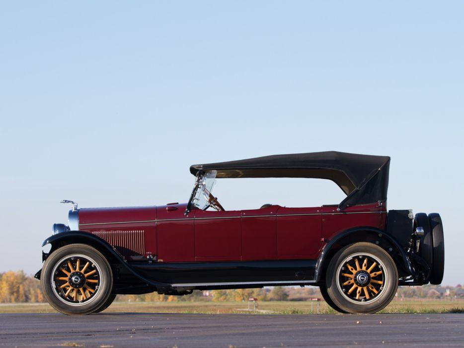 1924 Lincoln Model-L Sport Phaeton by Brunn retro    g wallpaper