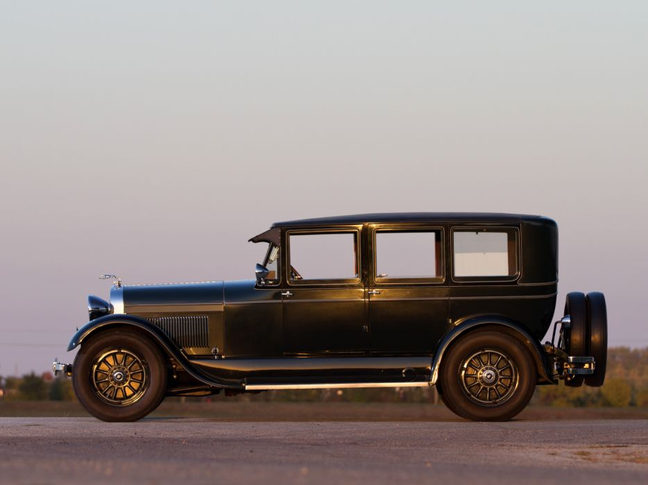 1927 Lincoln Model-L Limousine luxury retro   g wallpaper