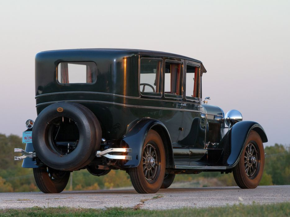 1927 Lincoln Model-L Limousine luxury retro    g wallpaper