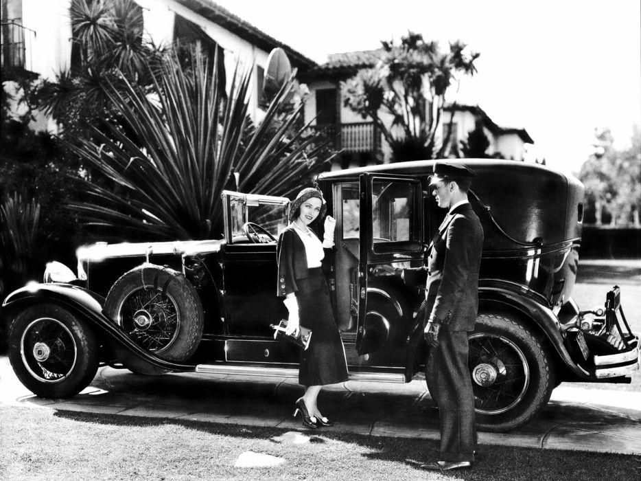 1928 Lincoln Model-L Town Car by LeBaron luxury retro          f wallpaper