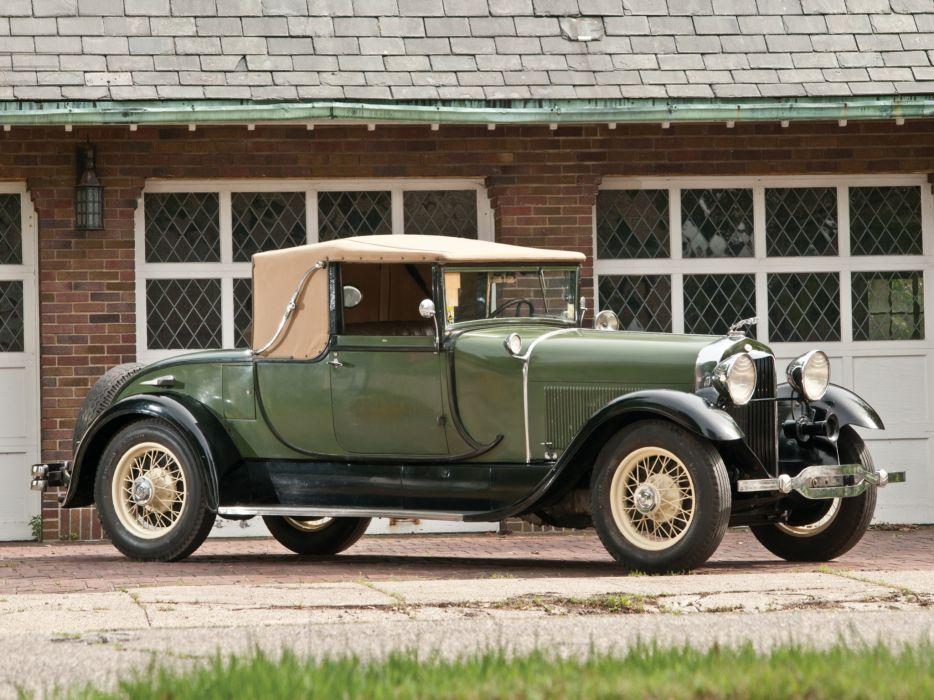 1929 Lincoln Model-L Club Roadster by Locke 151 retro    gd wallpaper