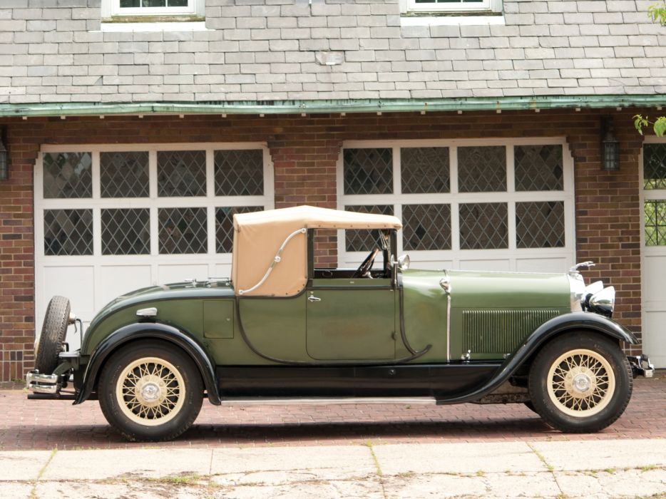1929 Lincoln Model-L Club Roadster by Locke 151 retro   f wallpaper