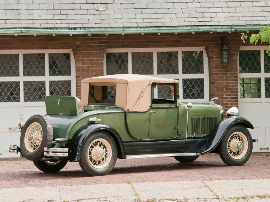 1929 Lincoln Model-L Club Roadster by Locke 151 retro wallpaper