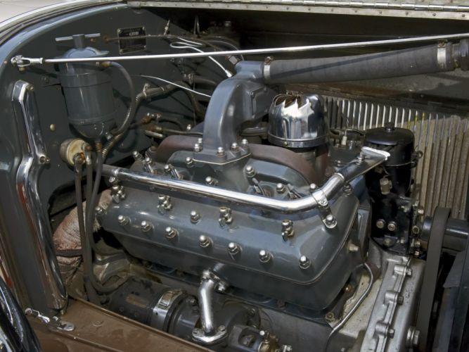 1930 Lincoln Model-L Convertible Sedan by Derham luxury retro engine g wallpaper