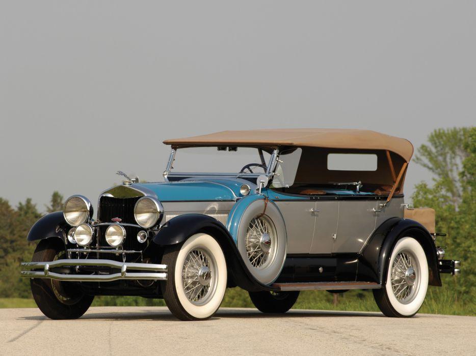 1930 Lincoln Model-L Dual Cowl Sport Phaeton by Locke retro luxury   g wallpaper