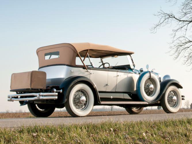 1930 Lincoln Model-L Dual Cowl Sport Phaeton by Locke retro luxury h wallpaper
